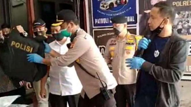 Kapolda Sumsel Irjen Polisi Eko Andri Heri merilis kasus penyerangan Polres OKI.