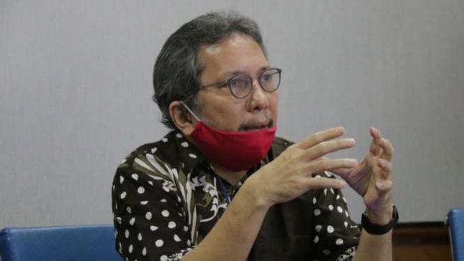 Anggota Ombudsman RI, Alamsyah Saragih, di Jakarta, Minggu, 28 Juni 2020.