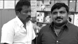 Ayah dan anak, Jayaraj dan Fenix.