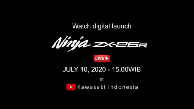 Jadwal peluncuran Kawasaki Ninja ZX-25R di Indonesia