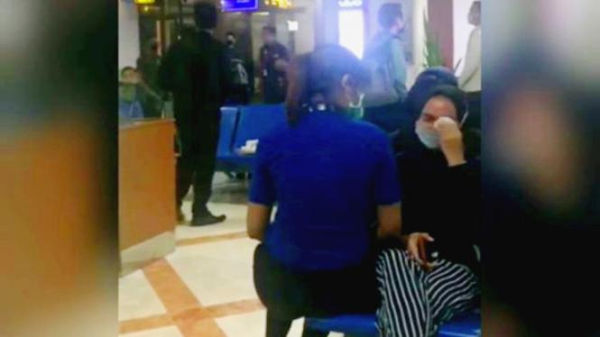 Video pemutusan hubungan kerja karyawan kontrak Lion Air viral di media sosial.