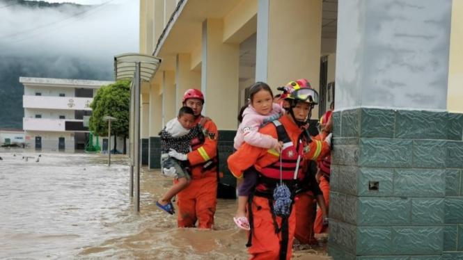 Banjir di China.