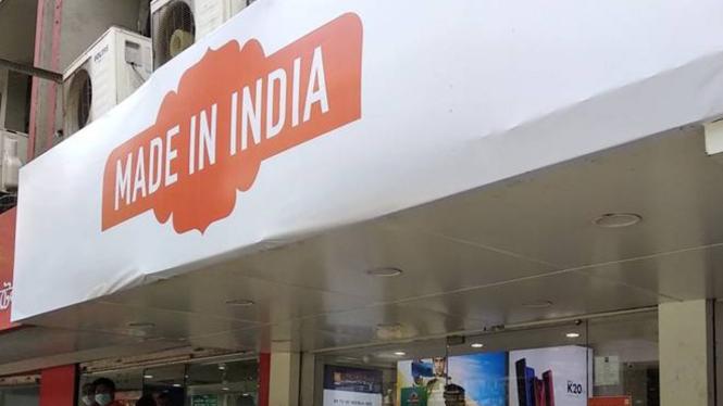 Toko Xiaomi di India ganti logo