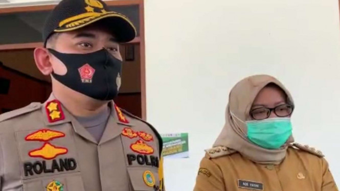 Kapolres Kabupaten Bogor AKBP Roland Renaldy