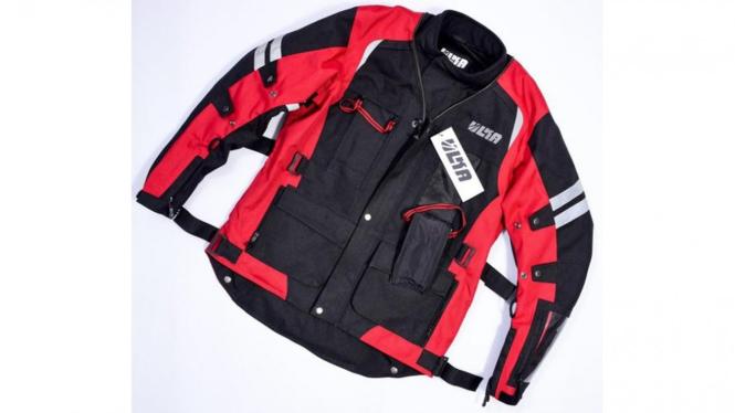 Jaket motor yang bisa diubah jadi tas punggung