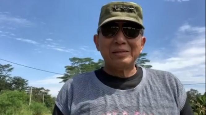 Mantan Kasum TNI Letnan Jenderal (Purn) Johannes Suryo Prabowo.