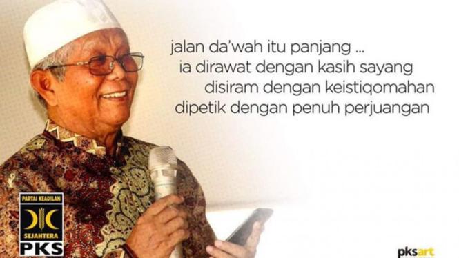 Pendiri PKS, Hilmi Aminuddin wafat.
