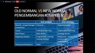 Old Normal vs New Normal.