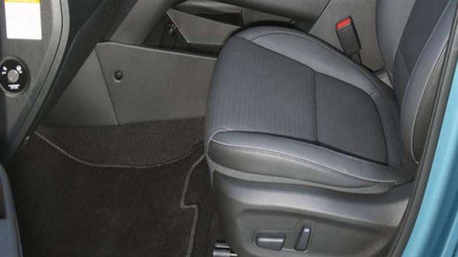 Ilustrasi jok elektrik mobil Hyundai Kona Electric