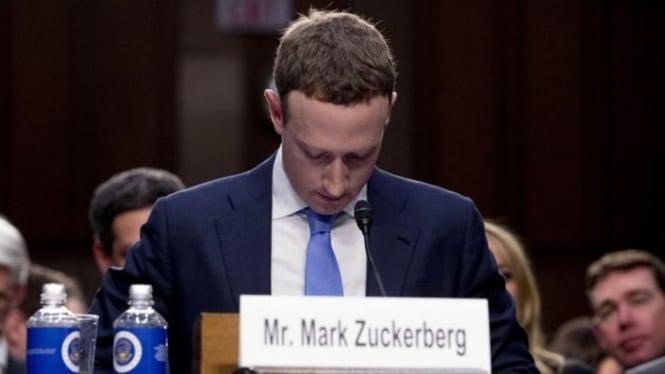 Kepala Eksekutif Facebook, Mark Zuckerberg.