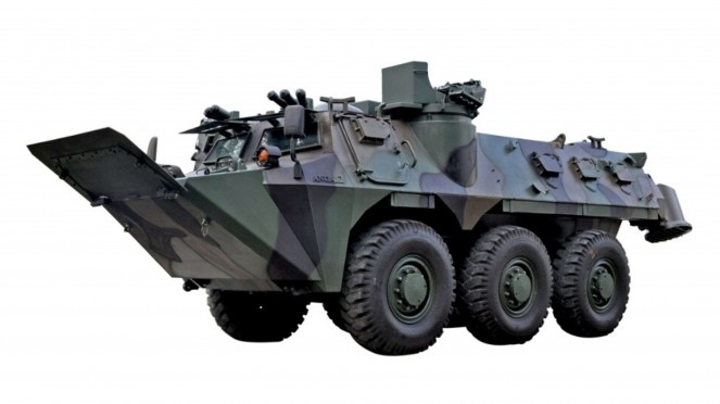 VIVA Militer: Kendaraan Khusus Anoa 6x6 Amphibious