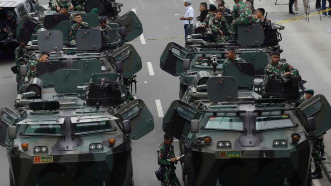 VIVA Militer: Deretan Kendaraan Khusus TNI AD