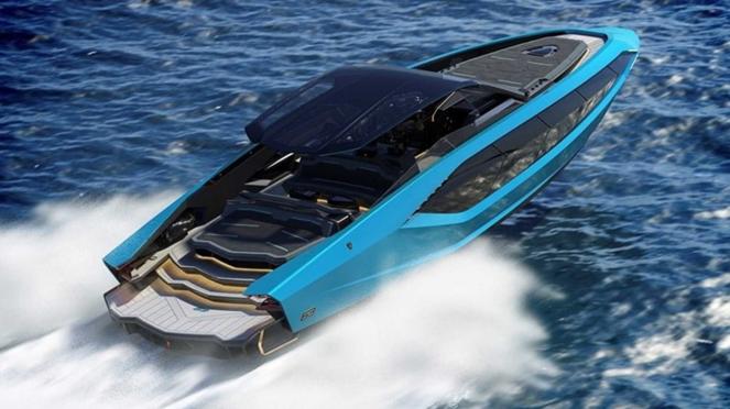Kapal pesiar mewah Lamborghini 63