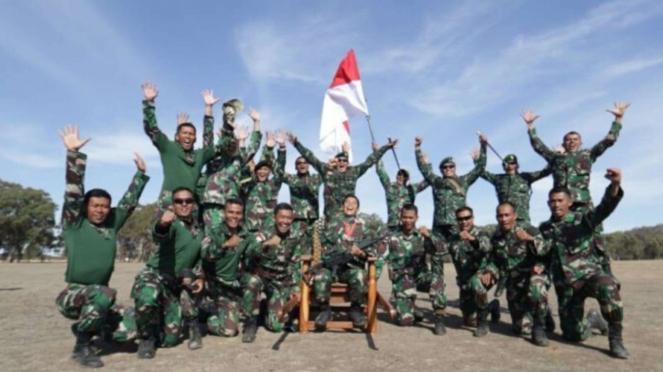 VIVA Militer: TNI Juarai Lomba Menembak di Australia tahun 2019