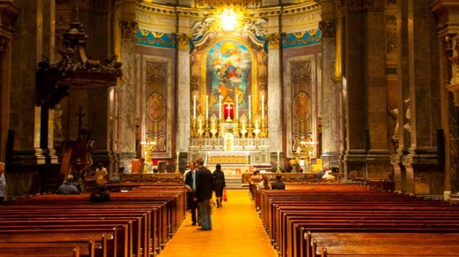 Gereja Brompton Oratory di Inggris