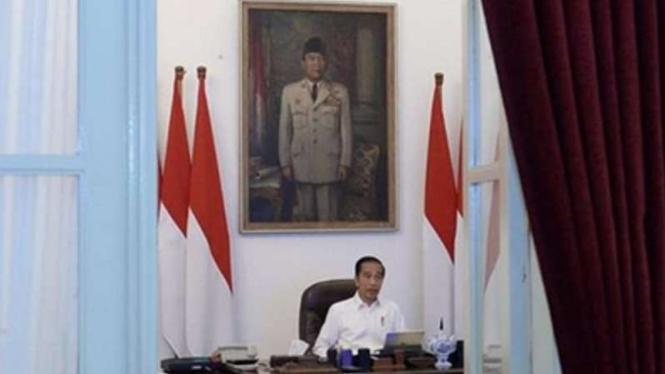 VIVA Militer: Presiden Joko Widodo.