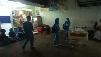 RS Simpangan Depok terbakar
