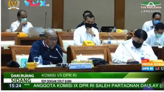 Direktur Utama PT Indonesia Asahan Aluminium (Persero), Orias Petrus