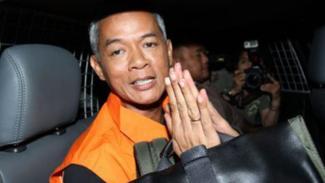 Eks Komisioner KPU, Wahyu Setiawan.