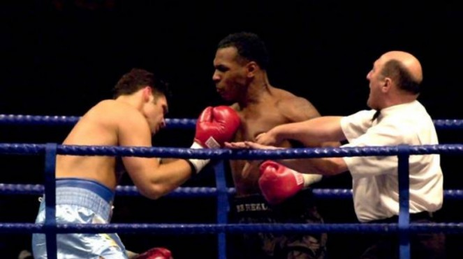Duel Mike Tyson versus Lou Severe