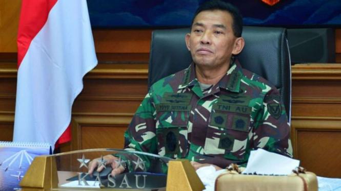 VIVA Militer: Mantan KSAU Marsekal TNI (Purn) Yuyu Sutisna