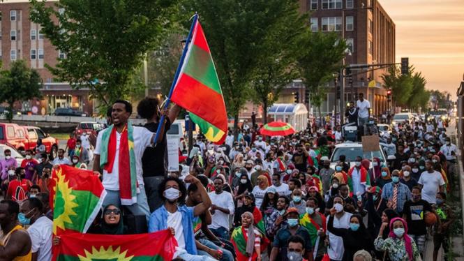 Protes di Ethiopia