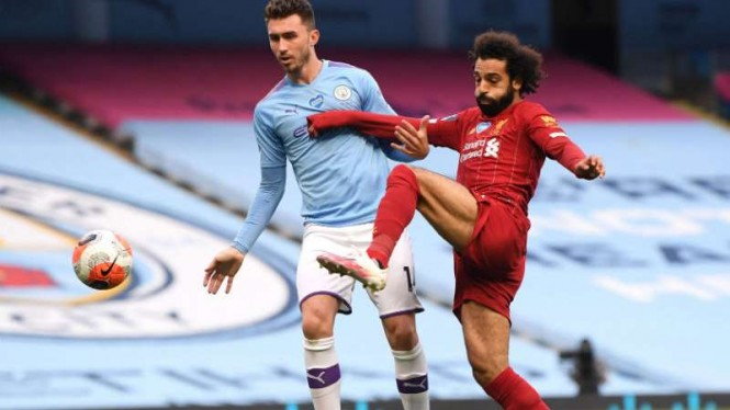 Duel Liverpool vs Manchester City.