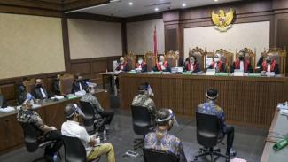 Sidang kasus dugaan korupsi Jiwasraya