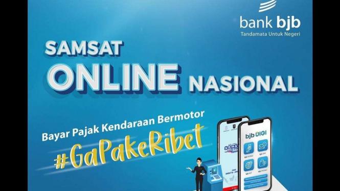 Samsat online nasional dari bank bjb.