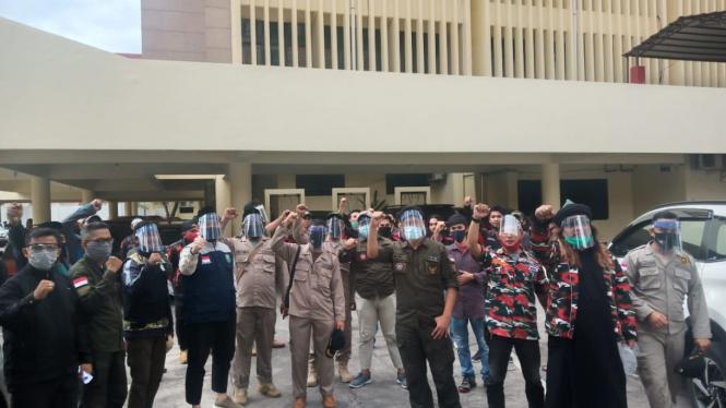 Tolak RUU HIP, ormas geruduk kantor DPRD Sulsel