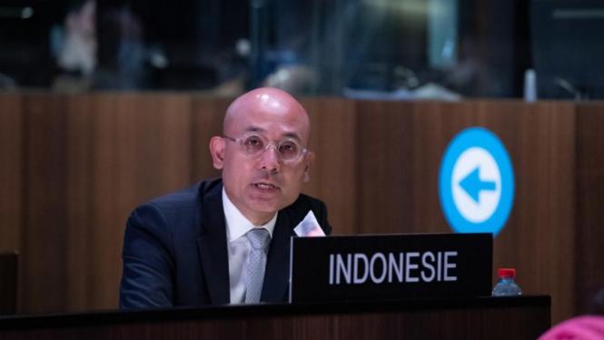 Delegasi Tetap RI untuk UNESCO, Arrmanatha Nasir.
