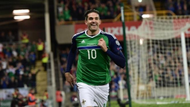 Striker Sunderland dan Timnas Irlandia Utara, Kyle Lafferty