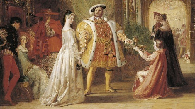 Henry VIII's first interview with Anne Boleyn