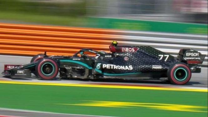 Pembalap Tim Mercedes F1, Valtteri Bottas