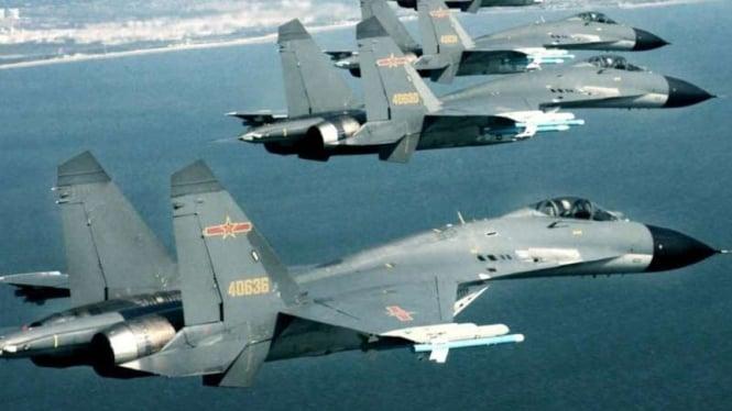 VIVA Militer: Jet tempur Tentara Pembebasan Rakyat China (PLA), Shenyang J-11
