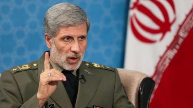 VIVA Militer: Menteri Pertahanan Iran, Brigadir Jenderal Amir Hatami
