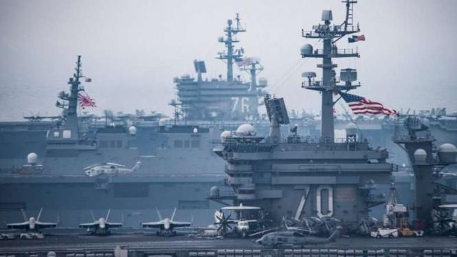 VIVA Militer: Armada militer Amerika Serikat di Jepang