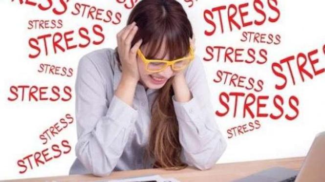 Ibu-ibu mudah stres