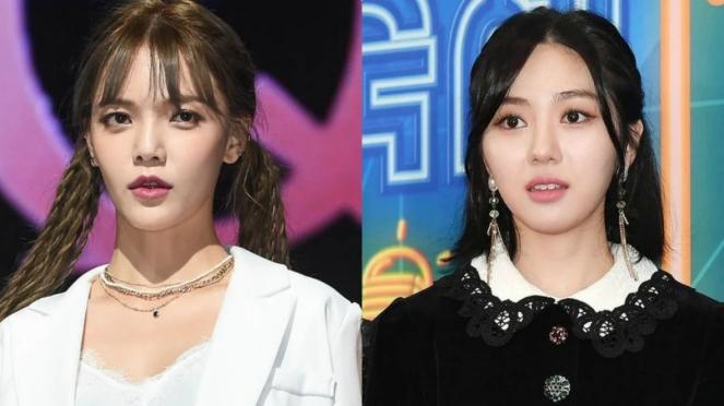 Jimin dan Mina ex AOA