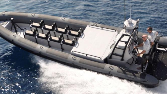 VIVA Militer: Kapal X10 Patrol RIB