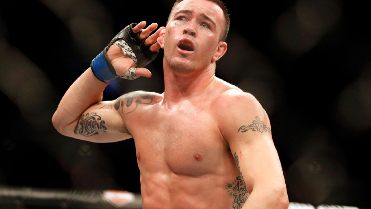 Petarung UFC, Colby Covington
