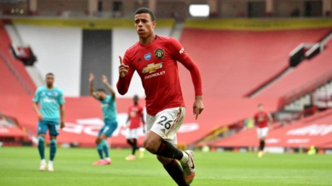 Striker muda Manchester United, Mason Greenwood