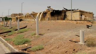 VIVA Militer: Fasilitas nuklir Iran di Natanz rusak terkena bom