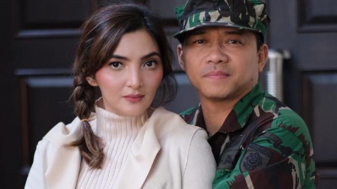 Anang Hermansyah dan Ashanty.