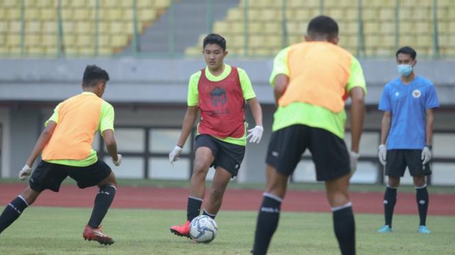 Timnas Indonesia U-16 kembali berlatih