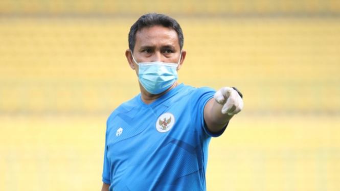Pelatih Timnas Indonesia U-16, Bima Sakti Tukiman