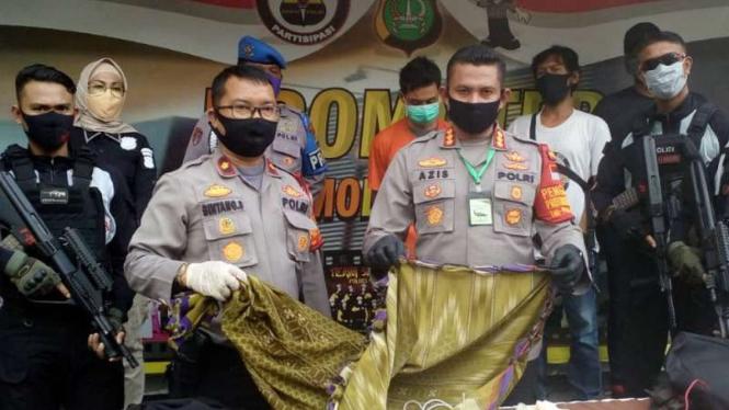 Kapolres Metro Depok, Komisaris Besar Polisi Azis Andriansyah.