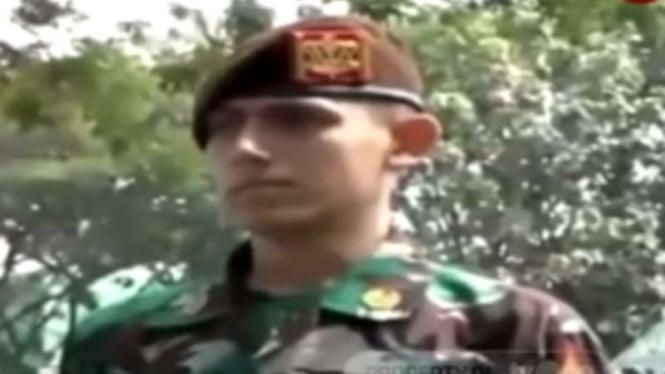 VIVA Militer: Enzo Zenz Allie, taruna Akmil, Magelang, Jateng.