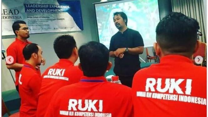 Tim Ruki dalam forum pelatihan (Dokumentasi Pribadi)