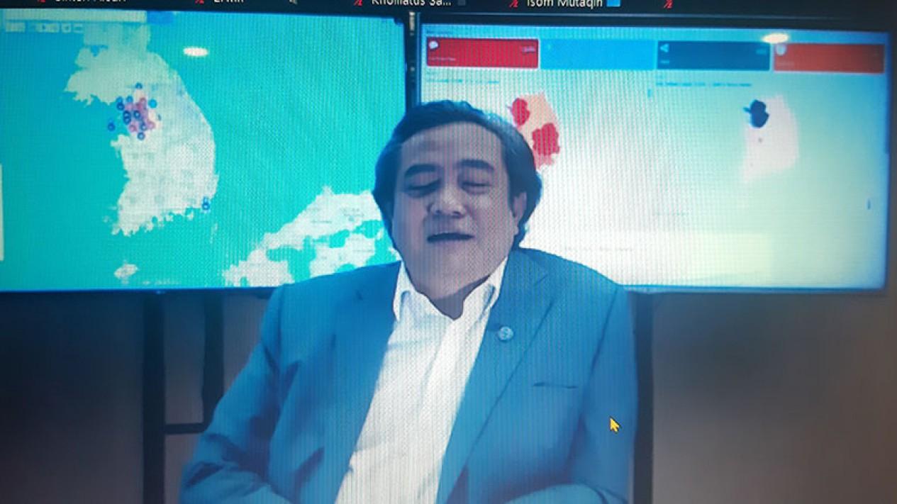 Duta Besar RI di Seoul, Umar Hadi.